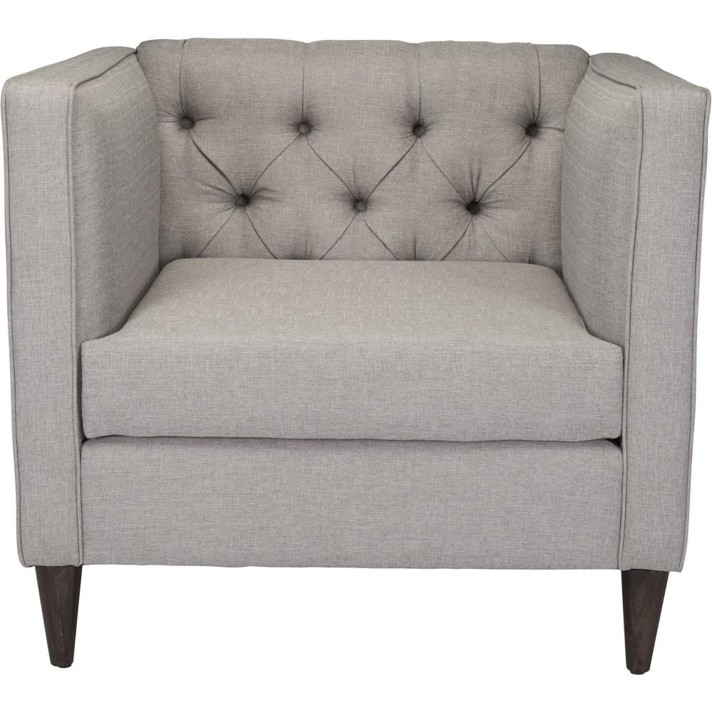 Modern Arm Chair Light Gray - ZM Home