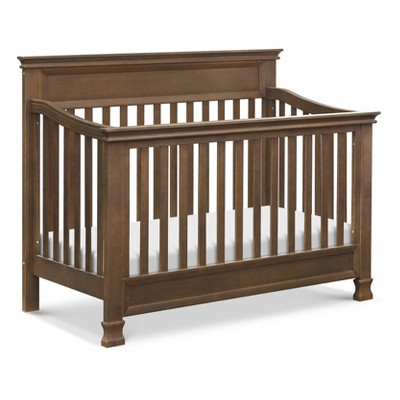 Million Dollar Baby Classic Foothill 4-in-1 Convertible Crib with Toddler Bed Conversion Kit - Mocha