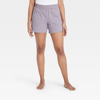 """Women's Mid-Rise Knit Shorts 5"""" - All in Motion™"""