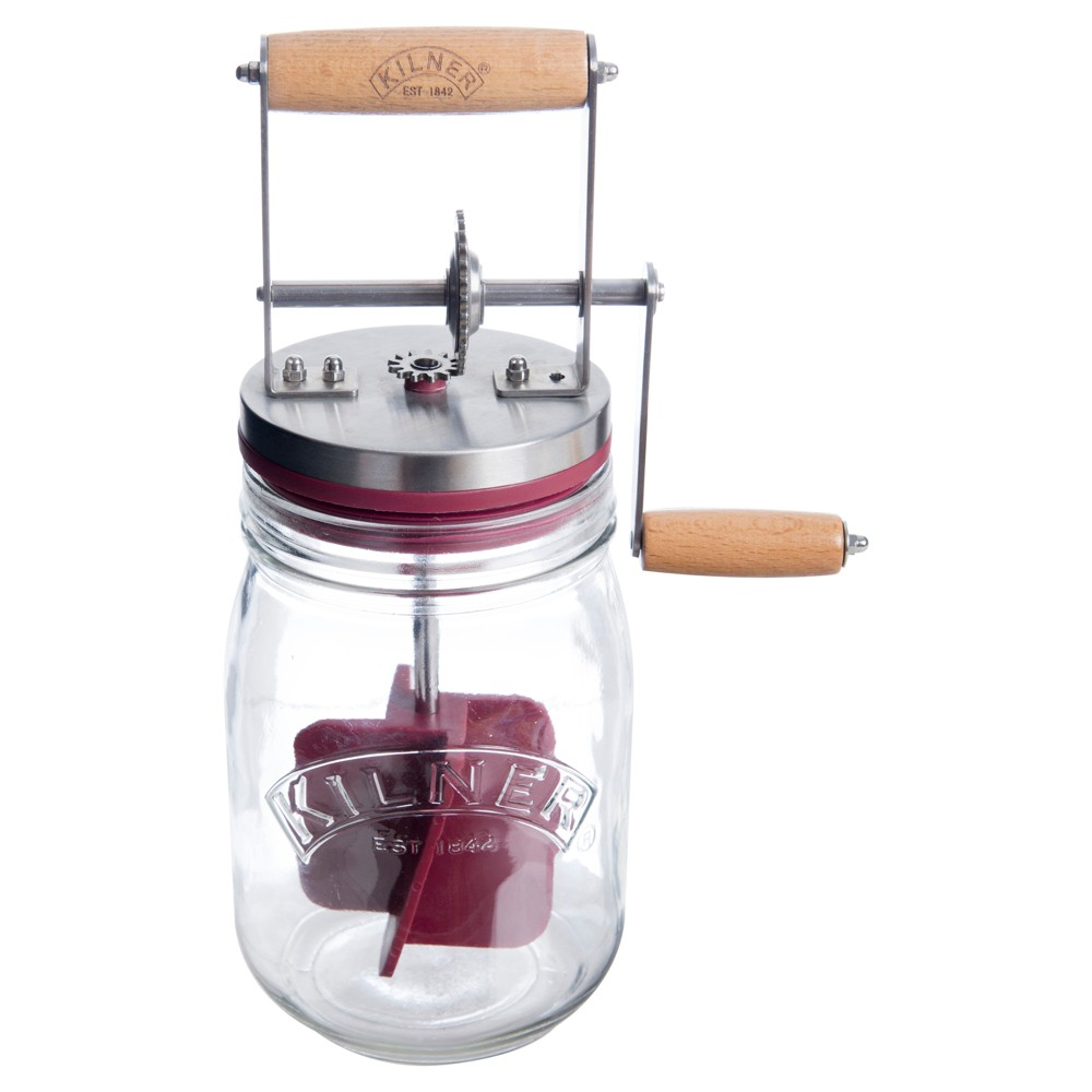 Kilner Butter Churner, Clear