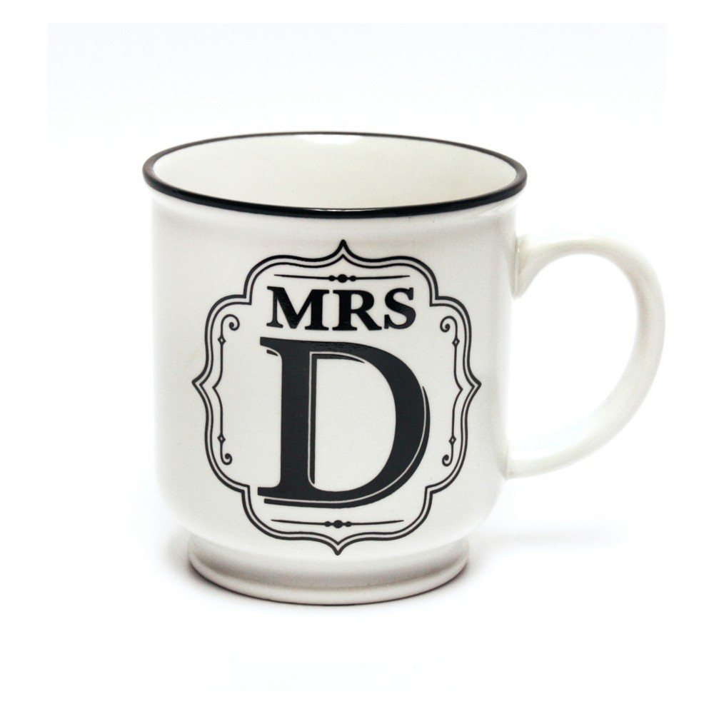 'Mrs. H' Mug - History & Heraldry, White