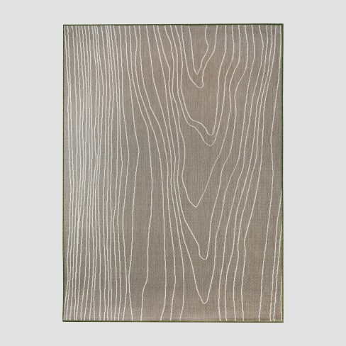 Faux Bois Outdoor Rug Tan - Project 62™ - image 1 of 3