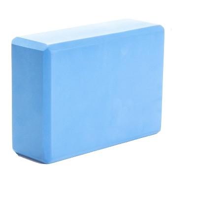 Mind Reader Set of 1 Yoga Block High Density EVA Foam with Non-Slip Surface for Yoga
