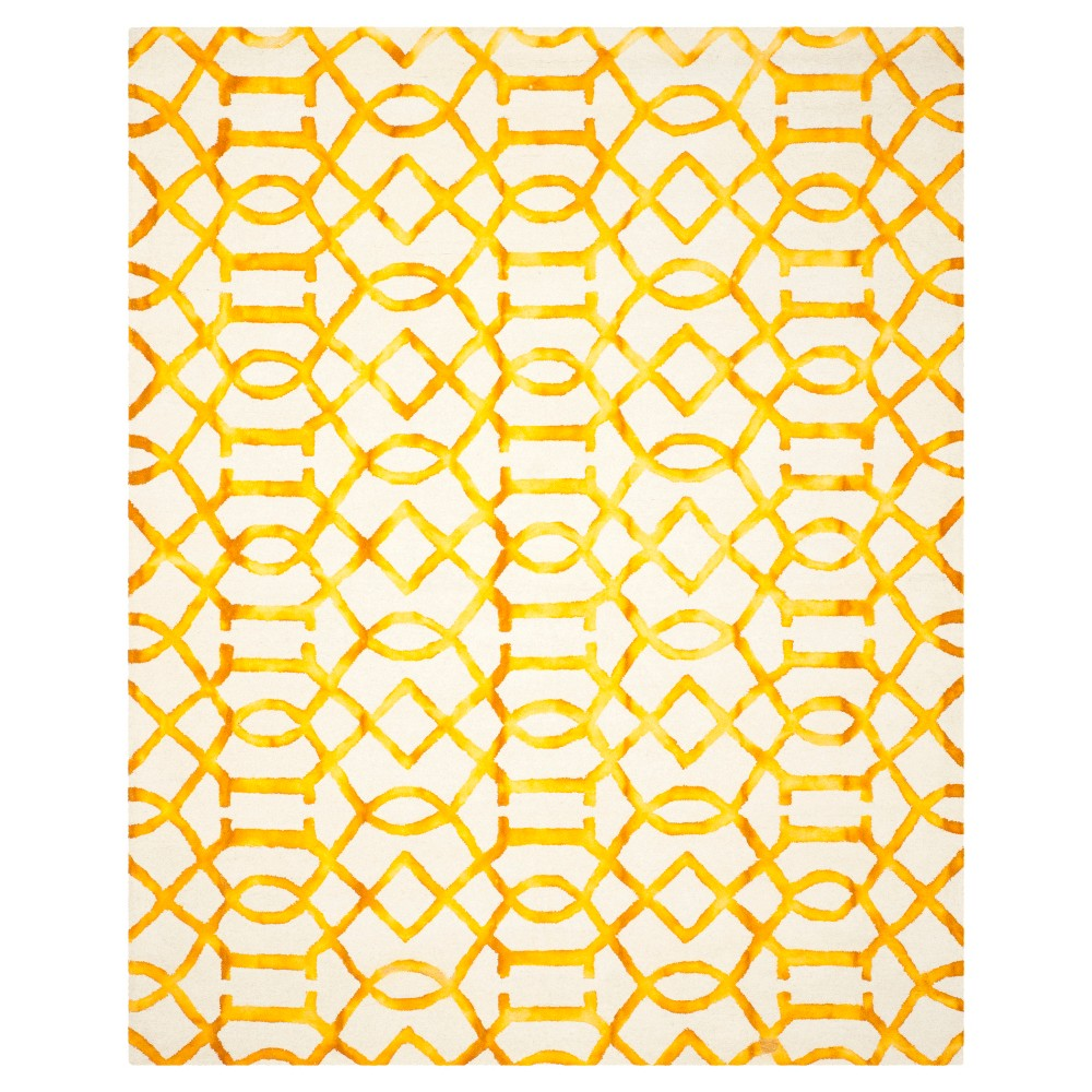Estcott Area Rug - Ivory/Gold (6'x9') - Safavieh