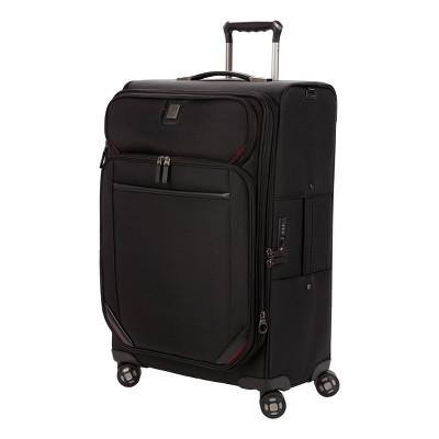 """SWISSGEAR Premium 26"""" Spinner Suitcase - Black"""
