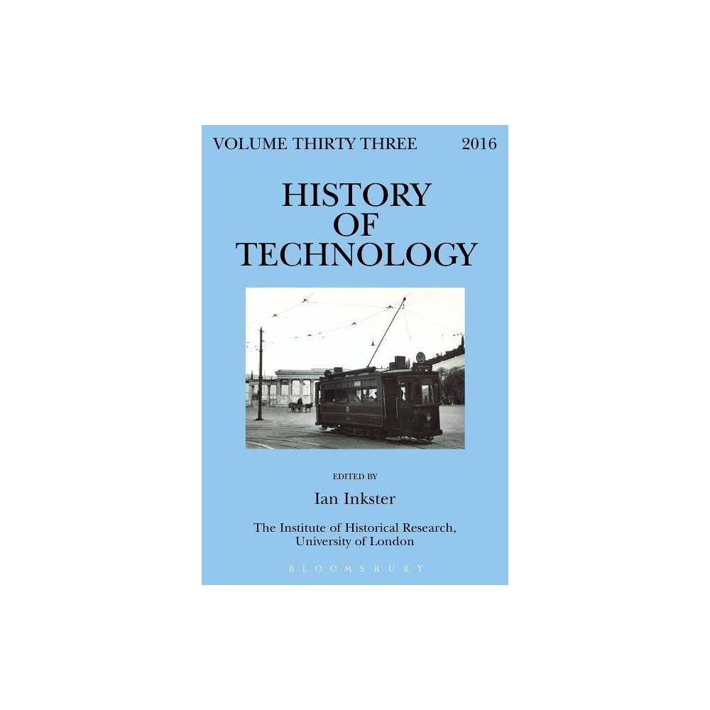 History of Technology Volume 33 - (Hardcover)