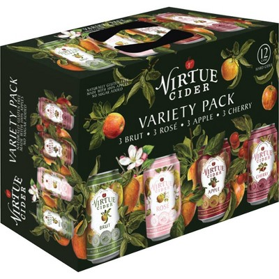 Virtue Hard Cider Variety Pack - 12pk/12 fl oz Cans