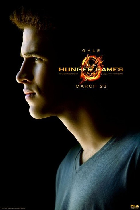 "The Hunger Games Movie Limited Edition poster ""Gale"" - image 1 of 1"