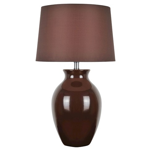 Lite Source Maya 1 Light Table Lamp (Lamp Only) - Brown - image 1 of 2