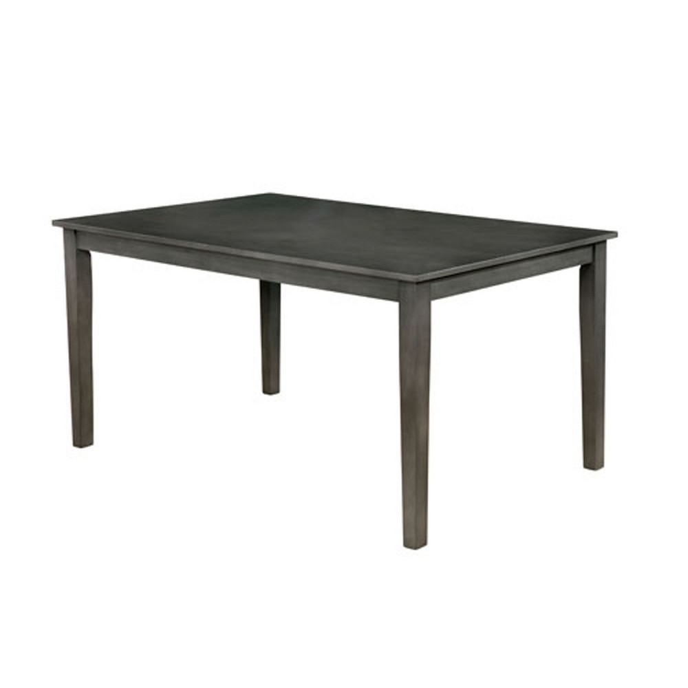 """Image of """"60"""""""" Horton Wood Dining Table Gray - Homes: Inside + Out"""""""