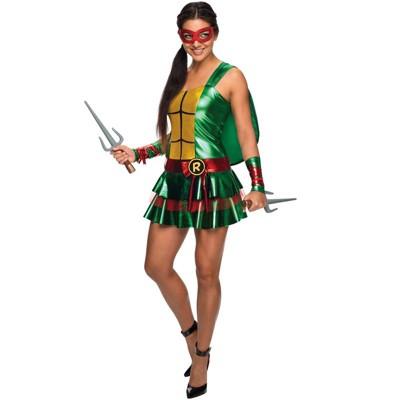 Teenage Mutant Ninja Turtles Raphael Dress Adult Costume