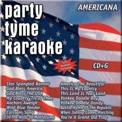Party Tyme Karaoke - Party Tyme Karaoke - Americana (16-song CD+G)