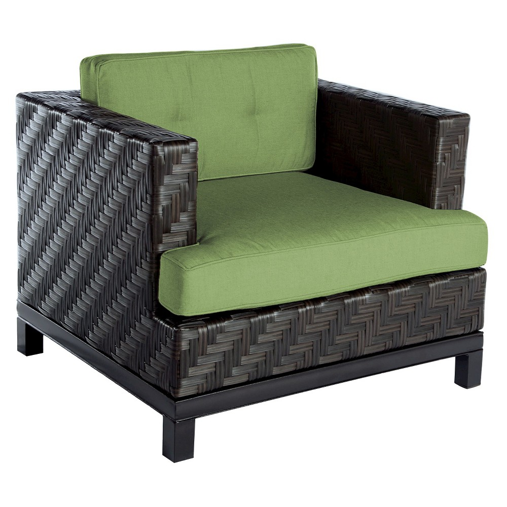 Image of AE Outdoor Rachel Club Patio Chair - Cilantro