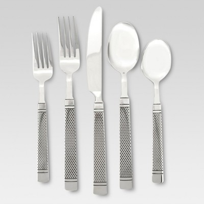 Aidan Silverware Set 20-pc. Stainless Steel - Threshold™