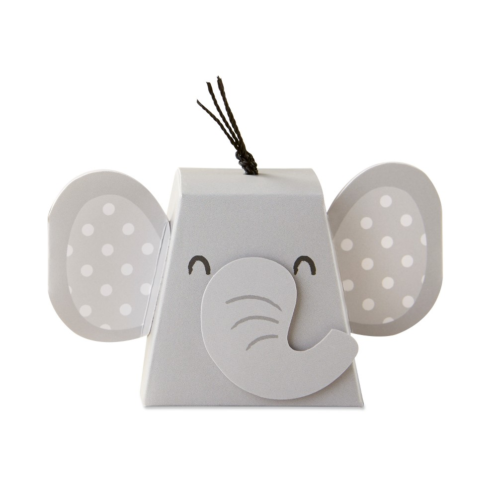 Image of 12ct Elephant Favor Box, Adult Unisex