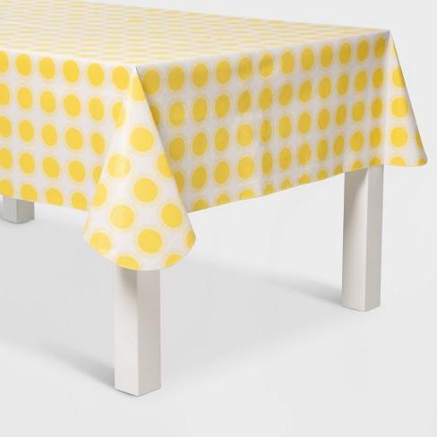 "84"" x 60"" Sun Print Tablecover Yellow - Sun Squad™ - image 1 of 1"