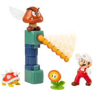 """Nintendo Lava Castle 2.5"""" Diorama Set"""
