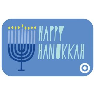 Hanukkah Menorah Gift Card