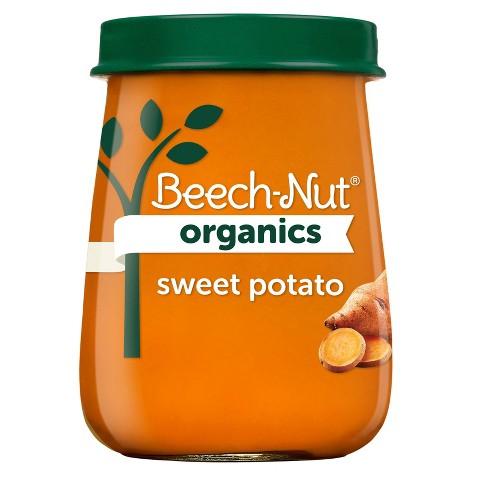 Beech-Nut Organics Sweet Potatoes Baby Food Jar - 4oz - image 1 of 4