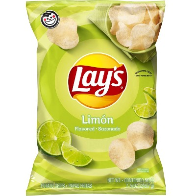 Lay's Limn Flavored Potato Chips - 7.75oz