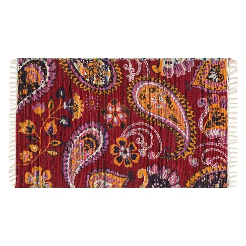 "Loloi Aria Accent Rug - Red (2'3""X3'9"") - image 1 of 1"