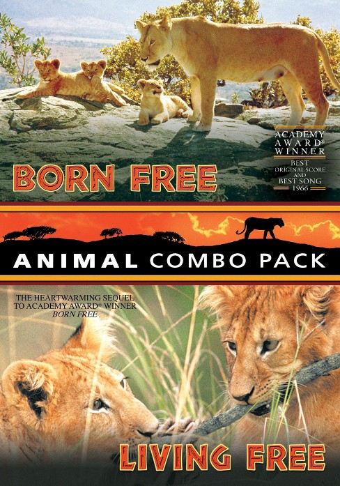 Animal Combo Pack:Born Free/Living Fr (DVD) - image 1 of 1