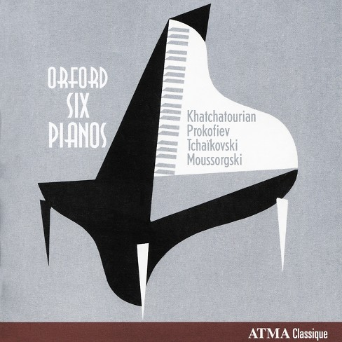 Orford six pianos - Orford six pianos:Vol 2 (CD) - image 1 of 1