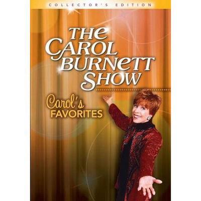The Carol Burnett Show: Carol's Favorites (DVD)(2012)