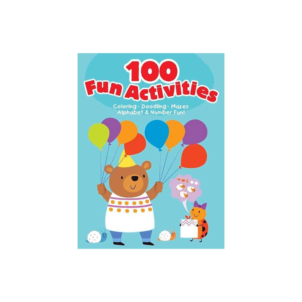 100 Fun Activities Blue By Dover Publications Paperback