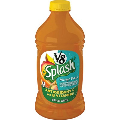 V8 Splash Mango Peach Juice - 64 fl oz Bottle