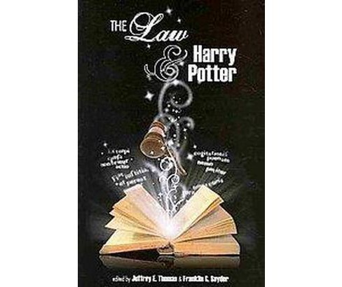 Law and Harry Potter (Paperback) - image 1 of 1