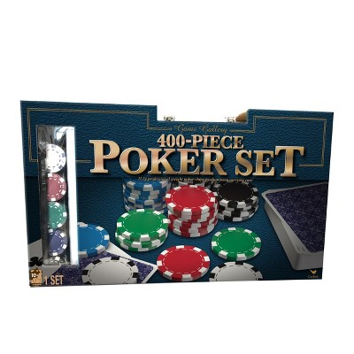 400pc Poker Game Set