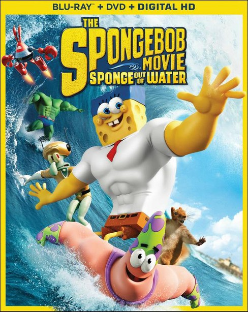 The SpongeBob Movie: Sponge out of Water [2 Discs] [Includes Digital Copy] [Blu-ray/DVD] - image 1 of 1