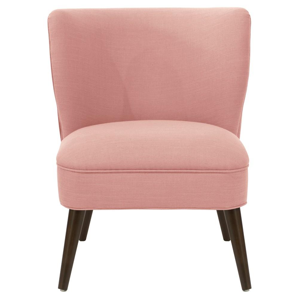 Lena Armless Pleated Chair Petal Linen - Cloth & Co.