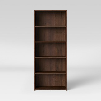 5 Shelf Bookcase Espresso Brown - Made By Design™