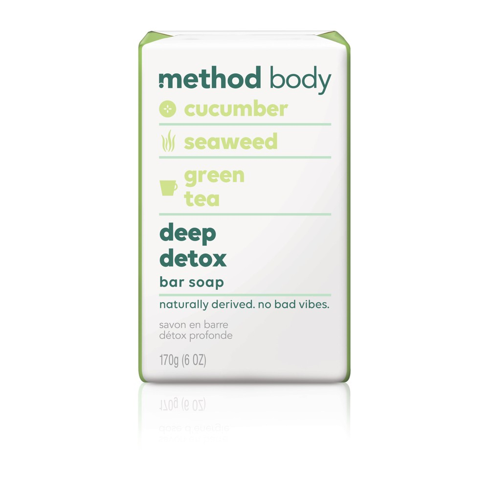Image of Method Bar Soap Deep Detox - 6oz
