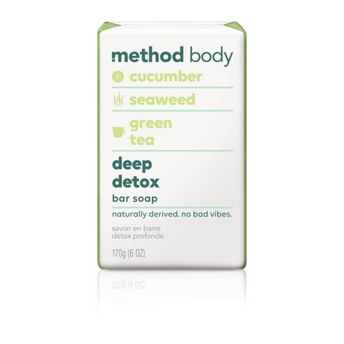Method Bar Soap Deep Detox - 6oz - image 1 of 2