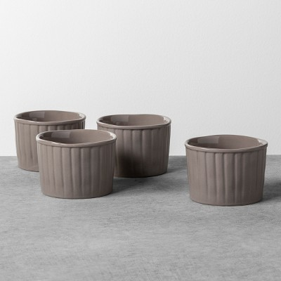 4pk Ramekin Gray Stone - Hearth & Hand™ with Magnolia