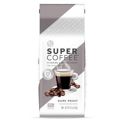 KITU Super Coffee Dark Roast Ground Coffee - 10oz