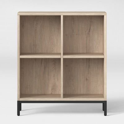 34  Loring 4 Cube Bookcase Vintage Oak - Project 62™