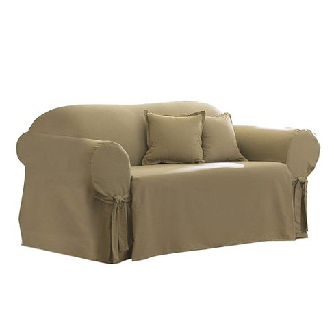 Cotton Duck Sofa Slipcover Sure Fit
