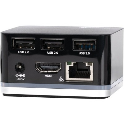 Plugable USB-C Phone Cube Docking Station - for Smartphone - 15 W - USB Type C - 4 x USB Ports - 2 x USB 2.0 - 1 x USB 3.0 - Network (RJ-45) - HDMI