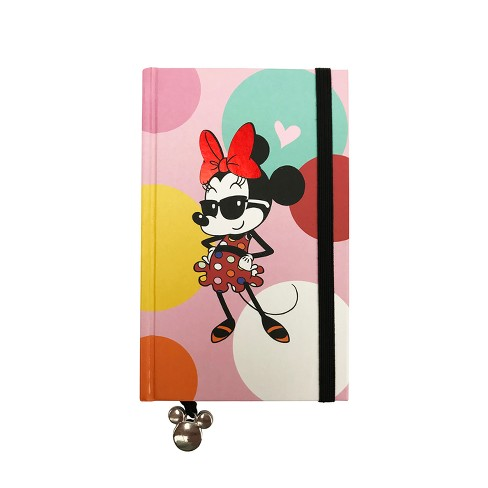Lined Journal Mini Disney Minnie Mouse with Elastic Closure - image 1 of 2