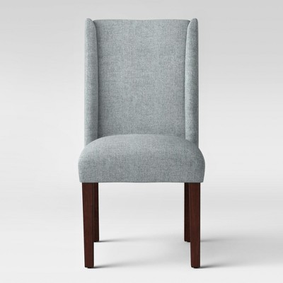 Lowell Modified Wingback Dining Chair Gray - Threshold™
