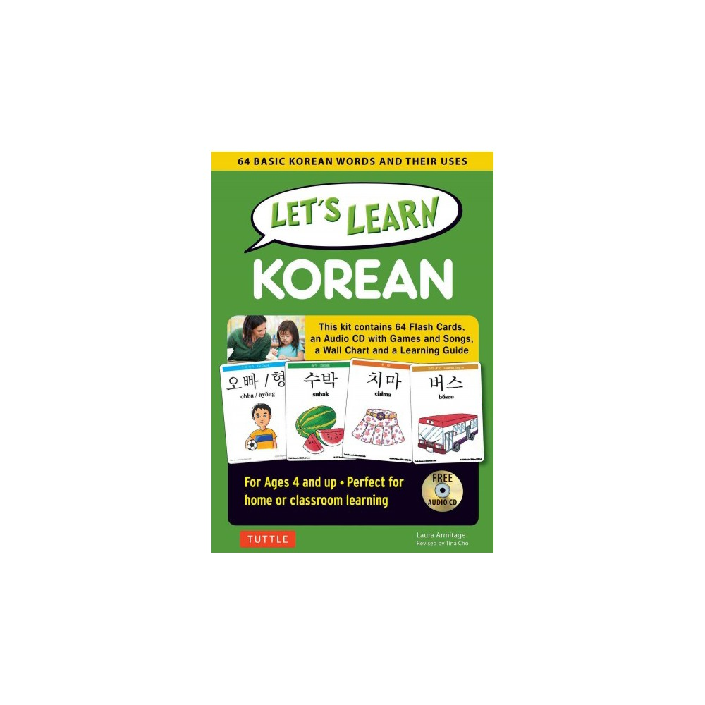 Let's Learn Korean (Mixed media product)