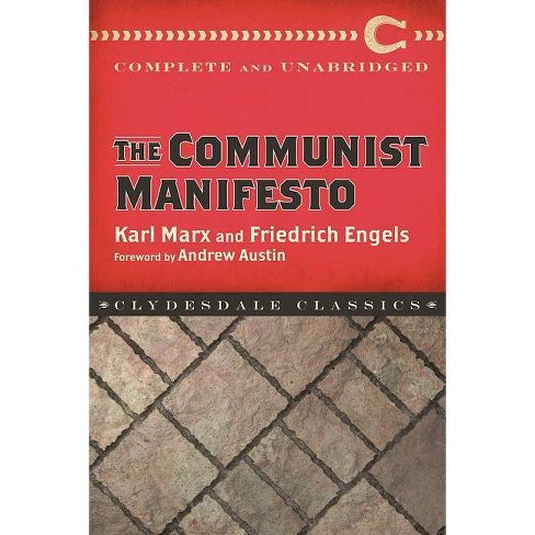 The Communist Manifesto - (Clydesdale Classics) by  Karl Marx & Frederich Engels (Paperback) - image 1 of 1