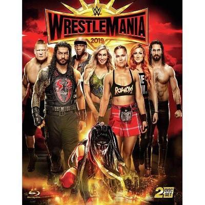 WWE: Wrestlemania 35 (Blu-ray)(2019)