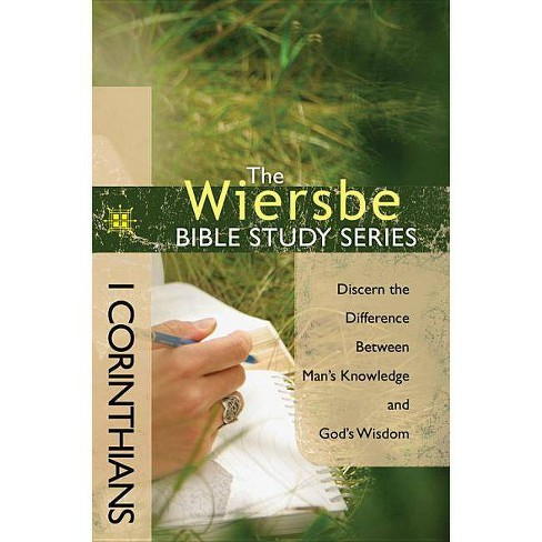 1 Corinthians - (Wiersbe Bible Study) by  Warren W Wiersbe (Paperback) - image 1 of 1