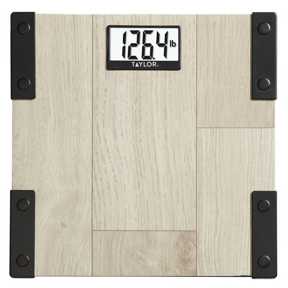 Digital Scale With Modern Farmhouse Design Natural Taylor