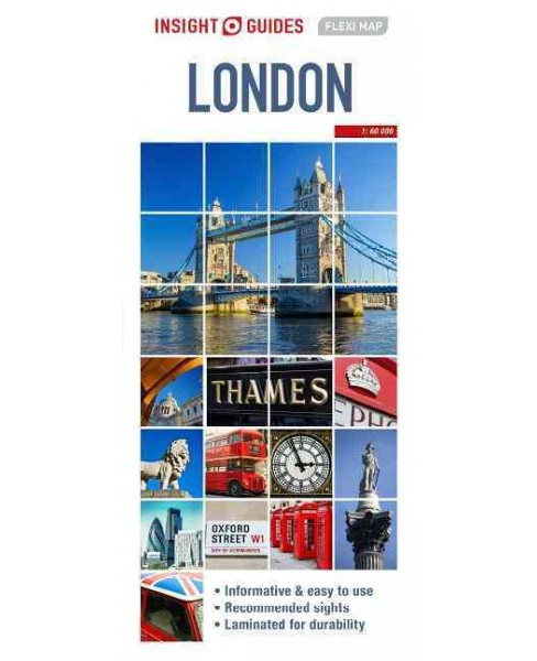Insight Guides Flexi Map London (Paperback) - image 1 of 1